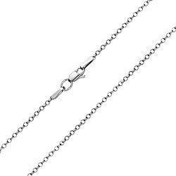 Серебряная цепочка в плетении ролло с насечкой, 2 мм 000100278