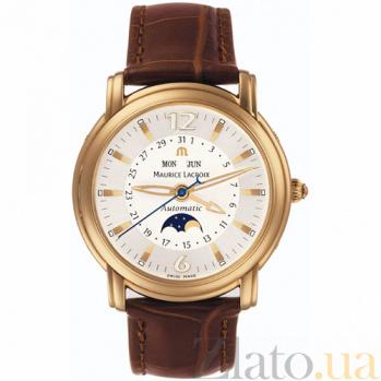 Часы Maurice Lacroix коллекции Moonphase Masterpiece MLX--MP6427-YG101-92E
