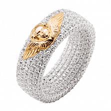 Эксклюзивное обручальное кольцо с бриллиантами Ангельская красота