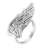 Серебряное кольцо Крыло ангела