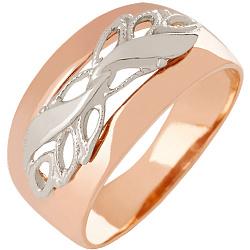 Золотое обручальное кольцо Древо жизни