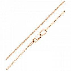 Золотая цепочка в красном цвете 000104059