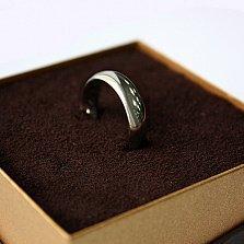 Золотое обручальное кольцо Весенняя любовь