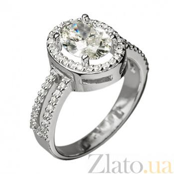 Кольцо из белого золота с бриллиантами Леонтайн R0593
