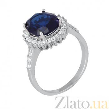 Серебряное кольцо с фианитами Веспера 000028356
