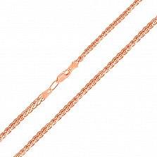 Золотая цепочка с алмазной гранью Эдверта, 3мм