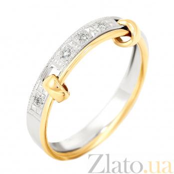 Обручальное кольцо с бриллиантами Верность VLA--10960