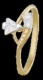 Серебряное кольцо с цирконием Джунг