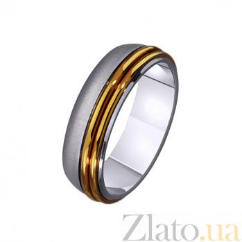 Золотое обручальное кольцо Прекрасное мгновенье TRF--4411445
