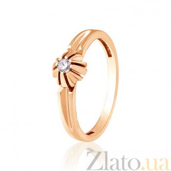 Золотое кольцо с бриллиантом Джуна EDM--КД7520
