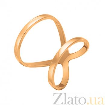 Кольцо Вечность в розовом золоте 000044863