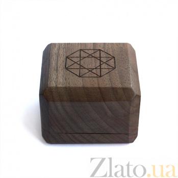 Брендовая деревянная упаковка Zlato для колец 000051208