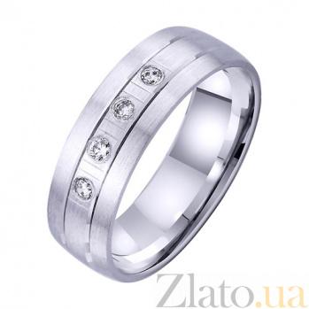 Золотое обручальное кольцо История вечной любви TRF--4221729