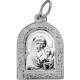 Серебряная ладанка Богоматерь