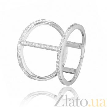 Серебряное кольцо с фианитами Айжан 000028081