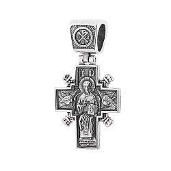 Серебряный крестик Праведность 000063026
