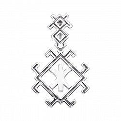 Серебряная подвеска-оберег Руна Жива 000134347