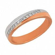 Золотое обручальное кольцо Милена
