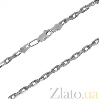 Серебряная цепь чернёная Якорная, 3,0 мм 010233ч