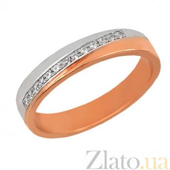 Золотое обручальное кольцо Милена VLT--нн1423