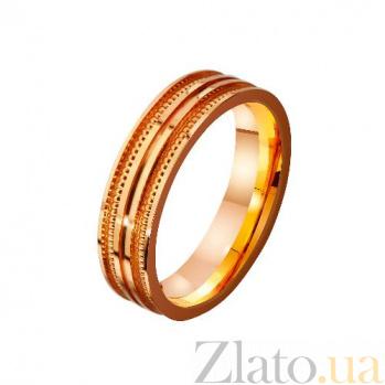 Золотое обручальное кольцо Дар свыше TRF--4111183