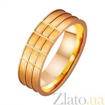 Золотое обручальное кольцо Любовь фараона TRF--4111436