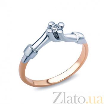 Кольцо на помолвку с брилиантом  Lois AQA--101216