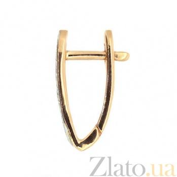 Серьги-трансформеры красного золота с бриллиантами Джая ZMX--ED-6786_K