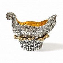 Подставка под яйцо Золотая курочка