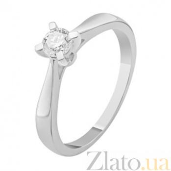 Кольцо для помолвки с бриллиантами Monica KBL--К1945/бел/брил