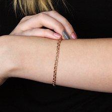Золотой браслет Арабка, 3мм