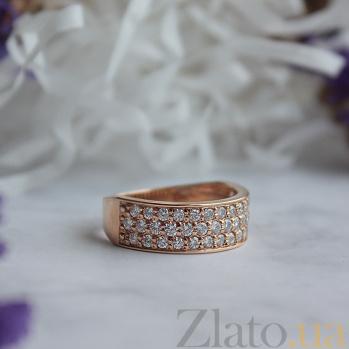 Золотое кольцо с бриллиантами Орленда R0417/крас