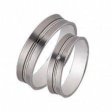 Золотое обручальное кольцо Романтичный подарок