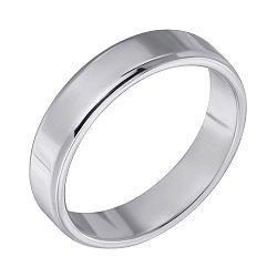 Обручальное кольцо из серебра 000102978