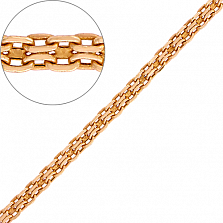 Золотая цепочка Версаль, 2.5мм