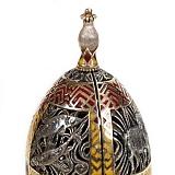 Серебряная композиция Драгоценное яйцо