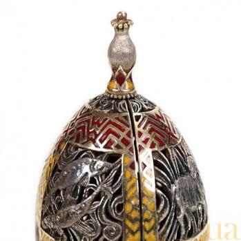 Серебряная композиция Драгоценное яйцо 959