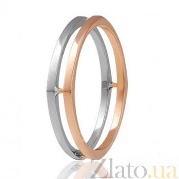 Золотое обручальное кольцо Идеальная любовь 000001632