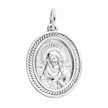 Серебряная ладанка Богородица 000117957