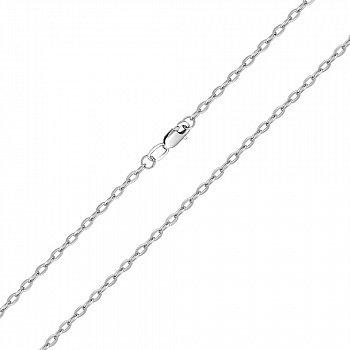 Серебряная цепочка в якорном плетении 000132269