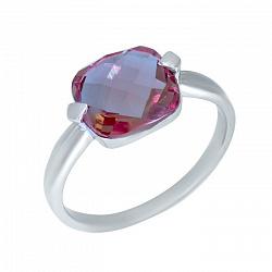 Серебряное кольцо Ермиония с султанитом