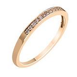 Золотое обручальное кольцо с бриллиантами Признание