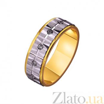 Золотое обручальное кольцо Немеркнущее чувство TRF--4421601