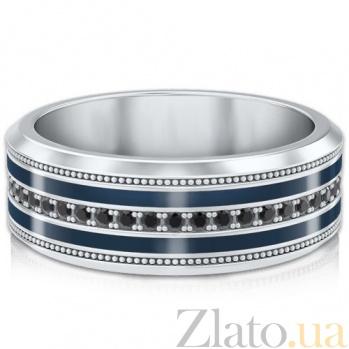 Мужское обручальное кольцо из белого золота Тайна: Вдохновение 6353