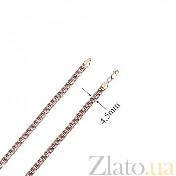 Золотая цепочка Бисмарк, 5 мм EDM--Ц013-4
