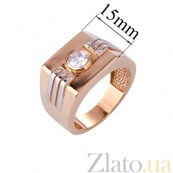Золотое кольцо с фианитами Мардж ONX--к00507