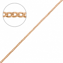 Золотая цепь Гурмет, 1,25 мм