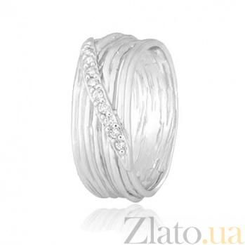 Серебряное кольцо с фианитами Замира 000028104