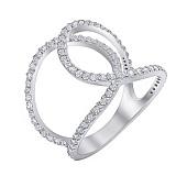 Серебряное кольцо с цирконием Аннабель