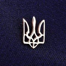 Значок Наш герб в красном золоте